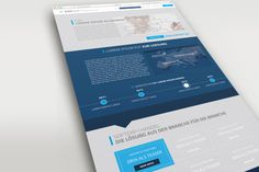 Landingpage für ein IT-Systemhaus