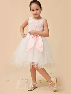 Little Girls Performance Dress Flower Girls Skirt