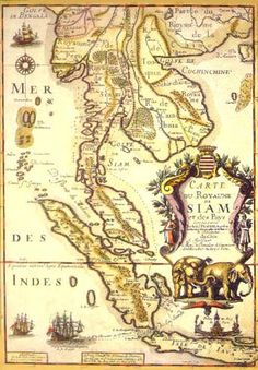 Map of Siam - can't find a print of this...but I NEED it!