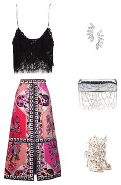"""""""date night"""" by jana-raykow on Polyvore featuring Sophia Webster, Chanel, Lola James Jewelry, Emilio Pucci and Zara"""