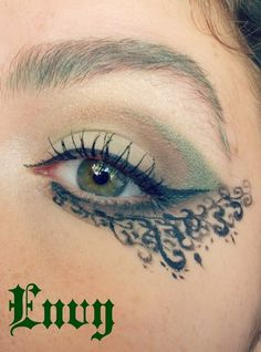 Seven Deadly Sins: Envy https://www.makeupbee.com/look.php?look_id=99220
