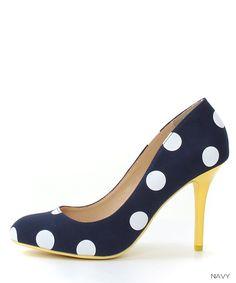 RANDA (Randa) ★ official site │ Women's Shoes Shop dot pumps /DS4045(22.0 cream): Pumps