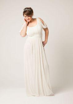 Vestidos de boda en tallas Grandes. Ceremonias, bodas y fiestas. #curvy #guapas #bodas