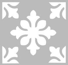 Curtain Patterns, Stencil Patterns, Stencil Designs, Tile Patterns, Bird Stencil, Stencil Painting, Tapete Floral, Stencils, Stenciled Floor
