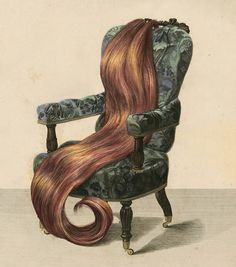 Antique  Chair with Real Hair