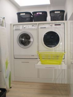 Recommended Ideas How to Optimize Small Laundry Room and Make It more Styli. Recommended Ideas How to Optimize Small Laundry Room and Make It more Stylish for you Laundry Room Remodel, Laundry Closet, Laundry Room Organization, Laundry Storage, Organization Ideas, Storage Ideas, Storage Shelves, Small Shelves, Storage Room