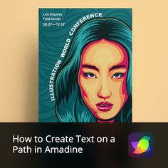 The Text on a Path feature allows you to make your texts stand out! For instance, it can be used for a cool poster or a design competition entry. Let's learn how easily it's done in Amadine with the new article. #amadineapp #digitalpainting #digitalart #digitalillustration #vectorillustration #vectorgraphics #vectordrawing #bestvector #vectorimage #vectorwork #vectordesign #designapp #designsoftware #article #textonpath #whatistextonpath #tipsandtricks #newapp #vectorsolution #vector Vector Design, App Design, Graphic Design, Text Tool, Design Competitions, Text Style, Cool Posters, Drawing Tools, Vector Graphics