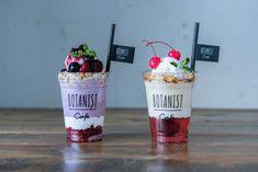 Food Graphic Design, Food Design, Bubble Milk Tea, Healthy Bars, Milkshake Recipes, Food Packaging Design, Cute Desserts, Weird Food, Drink Menu