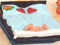 vcielkaisr-mojerecepty: Svadobná torta Posteľ