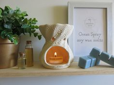 Ocean Spray Fragrance Wax Melts Soy Wax Melts All by AromaticGlow