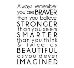 You are beautiful ❤