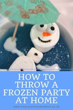 Jan 10, 2021 - How to Throw a Frozen Lockdown Party at Home for children Frozen Theme, Frozen Party, Easy Craft Projects, Easy Crafts, Baking Cupboard, Sep 15, School Holiday Activities, Cocktail Umbrellas, How To Make Sandwich