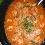 Creamy Spinach Tomato Tortellini - Cooking Classy