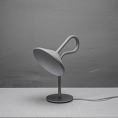 Round Lamp with a looping stem by Bao-Nghi Droste