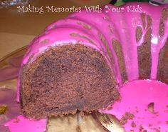 Beautiful Beet Bundt Cake - yes, made with beets.  It's delicious!!!