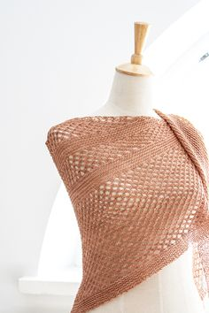 Ravelry: Summer Sky shawl with DyeForYarn Merino/Silk Fingering - knitting pattern by Janina Kallio.