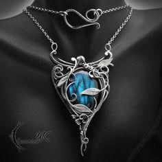 EGHDRALL - Silver and Labradorite by LUNARIEEN.deviantart.com on @DeviantArt