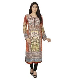 Wear your style with our collection of sleek & elegant fashion kurtis for ladies. Get it here :- http://www.desichhokri.com