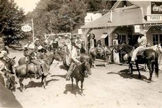 Vintage Arkansas: taken at the junction of the Pig Trail and Mulberry River at the Turner Bend Store on 9-25-51