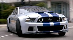 Which is your favourite Need for Speed car from the new movie trailer? The Mustang, Bugatti, Mclaren Koenigsegg Agera? Check them out by hitting the sweet ass Mustang. Ford Mustang Shelby Gt500, 2014 Ford Mustang, Ford Shelby, Mustang Cars, Ford Gt, Widebody Mustang, Need For Speed Movie, Need For Speed Cars, Mini Countryman