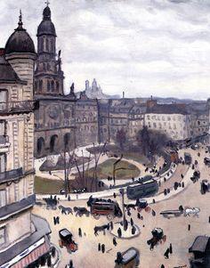 Place de la Trinité in Paris Albert Marquet - circa 1911