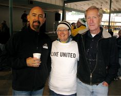 Lt. Governor Joe Garcia and Representative Pete Lee take time to pose with a LIVE UNITED volunteer at Manitou United Day of Service on September 13, 2014, part of Colorado United Day. Local civic and corporate volunteers joined together to paint the band shell in Soda Springs park to honor and help those impacted by the September 2013 floods. *** Learn more about Pikes Peak United Way by visiting www.ppunitedway.org