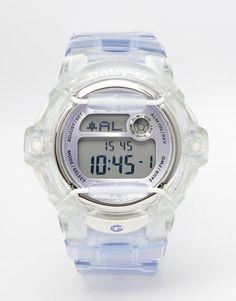 Reloj digital lila Baby G de Casio