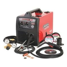 MIG Welder, Handheld, 208/230VAC * Trust me, this is great! Click the image. : DIY : Do It Yourself Today