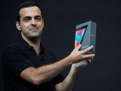 Hugo Barra, de 35 anos, é diretor de produtos móveis do Google e anunciou o Nexus 7