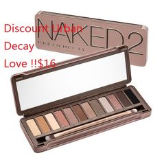 The beauty junkie in your life will LOVE this popular Palette from Urban Decay! Urban Decay Palette is filled with luminous eyeshadow shades with finishes ranging from shimmer to sparkle to the smoothest mattes imaginable. Urban Decay Eyeshadow, Eyeshadow Palette, Eyeshadow Primer, Creamy Eyeshadow, Eye Palette, Taupe Eyeshadow, Beauty Makeup, Eye Makeup, Hair Makeup