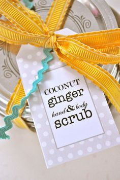 Little Birdie Secrets: homemade sugar scrub recipes {how to}