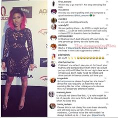 Well, her fans and followers sure had some things to say about her outfit.