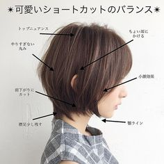 Pin on Hair and beauty My Hairstyle, Cute Hairstyles For Short Hair, Creative Hairstyles, Girl Short Hair, Pretty Hairstyles, Short Hair Cuts, Hair Tutorials For Medium Hair, Medium Hair Styles, Short Hair Styles