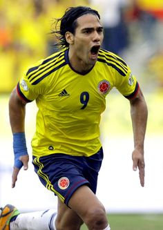 "Radamel Falcao! Soon to join Real Madrid !  He will complete a ""FCB"" Trio Falcao Cristiano Bale"