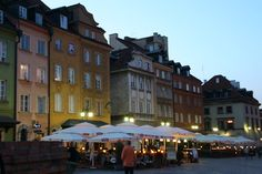 Warsaw Old Town by night | MANIA PODRÓŻOWANIA - PHOTO