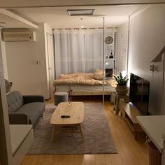 135 spectacular small bedroom design ideas for cozy sleep 41 Apartment Layout, Apartment Interior, Room Interior, Interior Design, Korea Apartment, 1 Bedroom Apartment, Room Ideas Bedroom, Small Room Bedroom, Home Bedroom