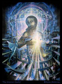 Christ painting / sacred heart