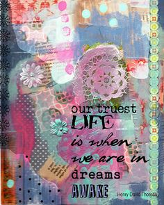 Be Brave Butterfly Collage Art by BethNadlerArt on Etsy, $15.00 ...