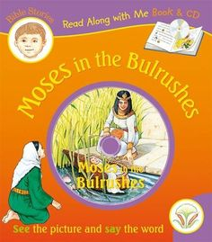 Moses in the Bulrushes, Book & CD (Read Along with Me Bible Stories)