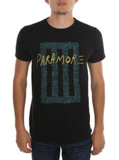Paramore Blue Bars T-Shirt