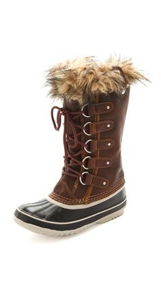 I have to buy myself a pair of Sorel Joan of Arctic Premium Boots! I love them!