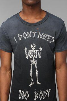 You tell 'em, Bony. UNIF No Body Tee #creepitreal