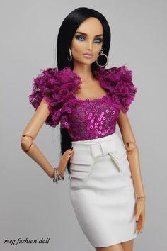 *Meg* Fashion Outfit for Kingdom Doll / Deva Doll/Numina Doll/''CHIC II''