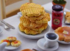 Waffle Stack by Shay Aaron, via Flickr Amazing miniture food