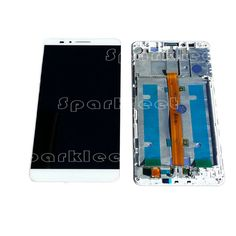 >> Click to Buy << With Frame For Huawei Ascend Mate 7 LCD Display Touch Screen Digitizer Assembly Repair Parts Free Shipping #Affiliate