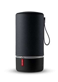 Libratone ZIPP Portable WiFi + Bluetooth Wireless Speaker & Compatible with Alexa (Nordic Black) Multi Room Speakers, Bluetooth Speakers, Microsoft Surface, Best Portable Bluetooth Speaker, Speakers For Sale, Speaker Design, Galaxy, Wifi, Black