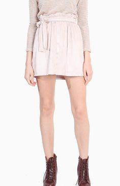 FLAUNT Crème Paperbag Skirt