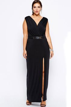 Sexy Lace Long Maxi Dress with Slit Plus Size Long Dress Formal Party Big  Size Prom b531588b27c0