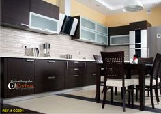 New Kitchen Furniture with Small Table and Chairs New Kitchen Cabinets Tips Dark Wood Kitchen Cabinets, Contemporary Kitchen Cabinets, Kitchen Cupboard Doors, Dark Wood Kitchens, Kitchen Cabinet Hardware, Kitchen Cabinet Design, Painting Kitchen Cabinets, Cabinet Doors, Kitchen Paint