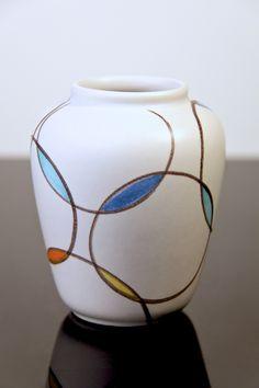 Vase designed by Anneliese Beckh. She was head designer for Zeller during a long period until 1983.